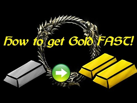 ESO Tamriel Unlimited PS4 How to Get Gold EASY!!