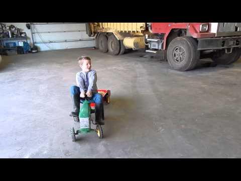 Pedal Manure Spreader Explanation