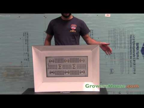 LED Plant Grow Light Review - Stealth Grow SG 1250 HO - 1200w Equivalent HID