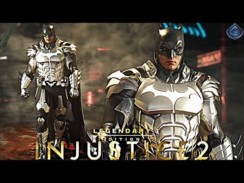 Injustice 2 Online - AWESOME NEW EPIC BATMAN GEAR!