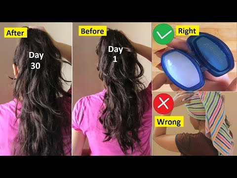 Hair Growth Hacks, Get rid of Split Ends, Get Long Hair, Vaseline Hack for Hair, Banana Hair Mask