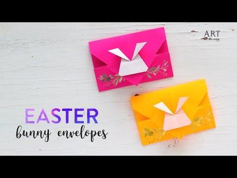 DIY Easter Bunny Envelope