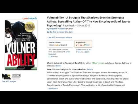 ★ Vulnerability ★ A Struggle That Shadows The Strongest Athlete - Encyclopaedia of Sports Psychology