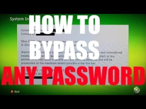 How to bypass the family code on any generation of XBOX in less than 20 seconds!