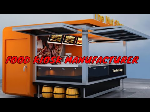 Small kiosk design in India# Sai Structurers India// food kiosk manufacturer in Delhi#FOOD STALL