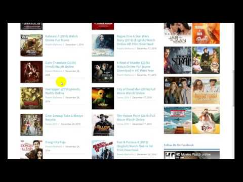 how to download movies From www.hdmovieswatchonline.com On PC Or Laptop