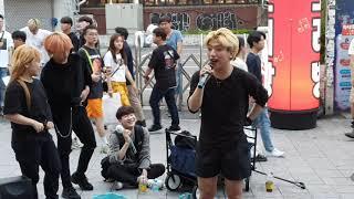 레드크루(이강용)+에너자이주(한은비,이현진)+엘오스(이석준,김용환)/COVER DANCE/ 20190723 홍대(HongDae) 버스킹(Busking)