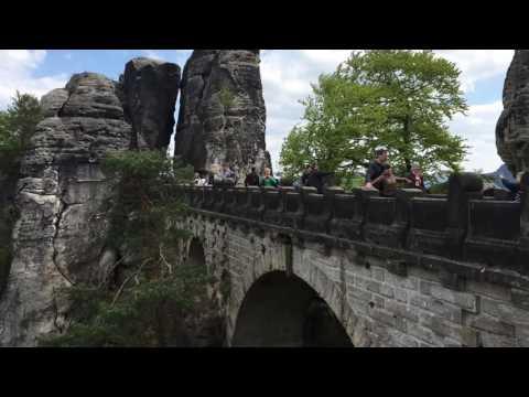 Trip to Bastei Bridge, Germany -Switzerland Nationalpark,Dresden