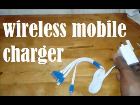 wireless mobile charger -  Trial version