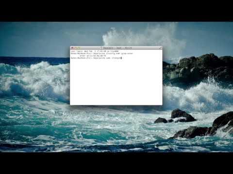 How to Change MAC Address (Macintosh)