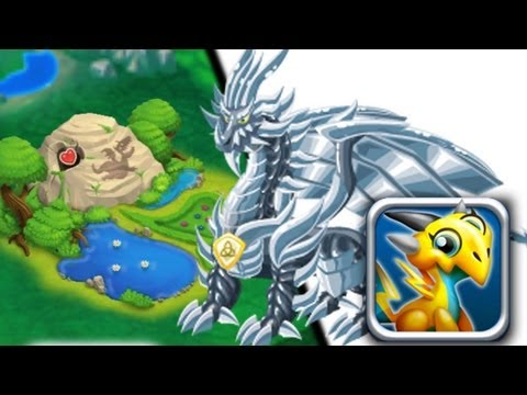 How to breed Pure Metal Dragon 100% Real! Dragon City Mobile! wbangcaHD!