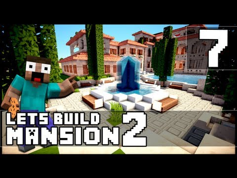 Minecraft: How To Make a Mansion - Part 7