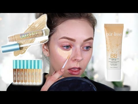 TRYING NEW FACE PRODUCTS! New Beauty Bakerie Concealer Review