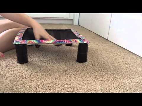 DIY American Girl Doll Trampoline