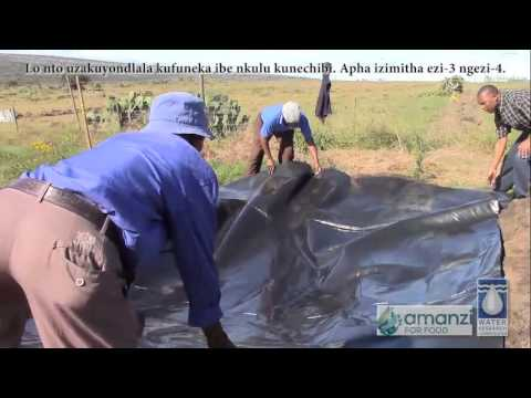 Amanzi for Food: How to Make a Rainwater Harvesting Pond