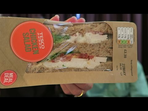 Express Sandwiches From Tesco: BLT, Chicken Bacon Club, Chicken Salad Review