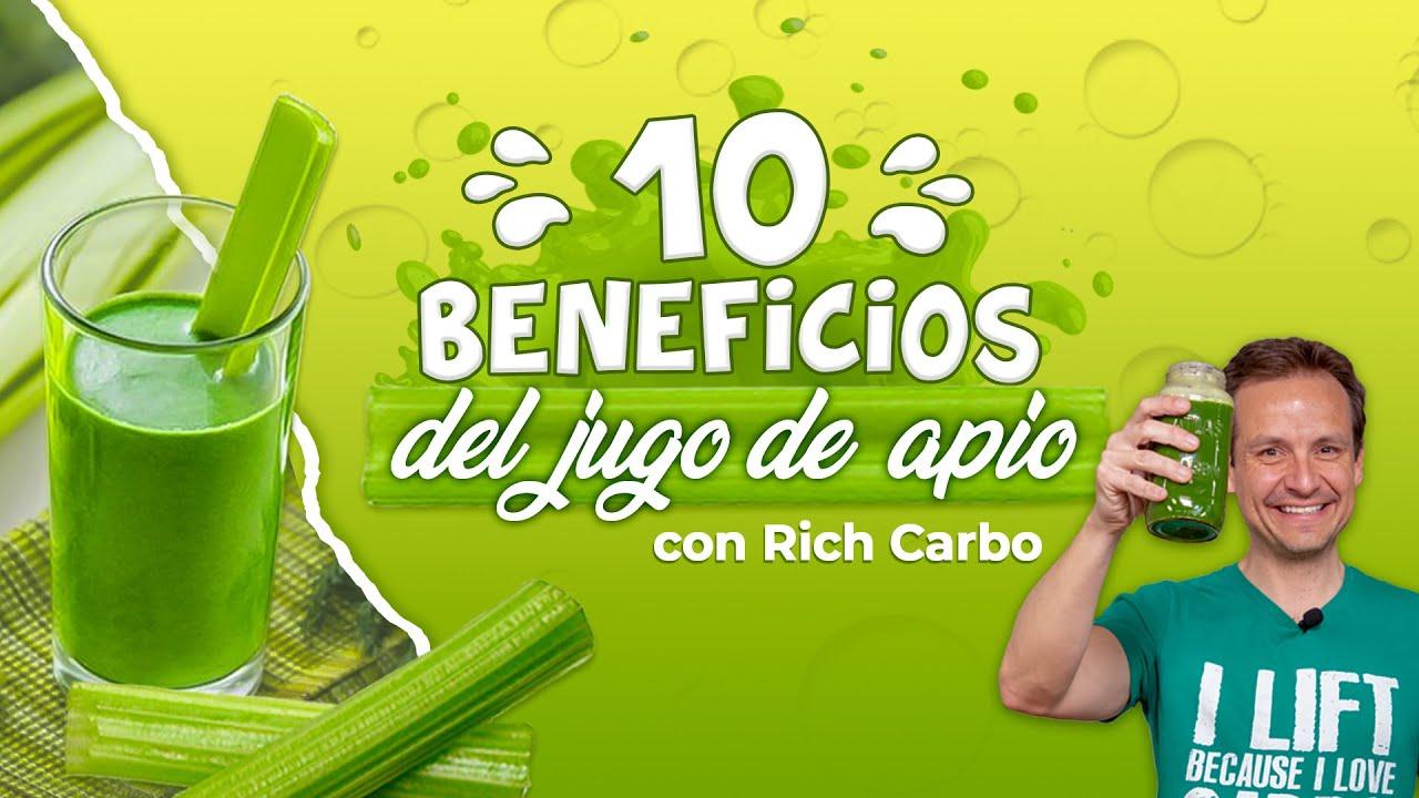 10 beneficios del jugo de apio con Rich Carbo y Didi Sanchezco
