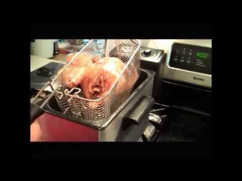 Cajun Deep Fried Cornish Game Hens.