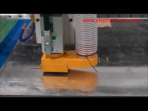 Blue Elephant cnc machine for Aluminum Composite Panels cutting