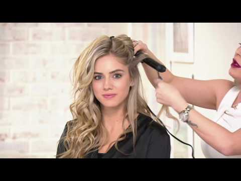 ghd Curve Classic Wave Wand withStyling Glove on QVC