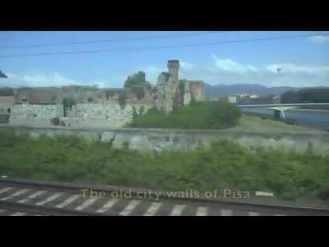 A Train Trip from Pisa to Chiavari