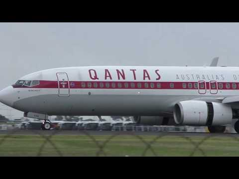 Qantas Roo and Retro Roo Version 2 at Melbourne Airport
