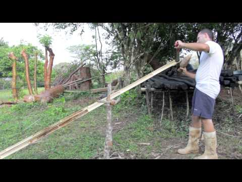 How to split bamboo