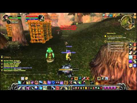 Let's Play World Of Warcraft Part23 Western Plaguelands Andorhal Conquered