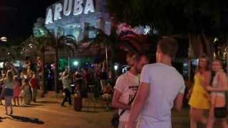 Кипр Айя Напа (Улица баров) (Клубы) (Развлечения) (Ночная жизнь)- Cyprus- Ayia Napa
