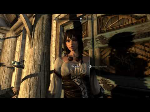 Skyrim's Recorder Interview with the Vampire