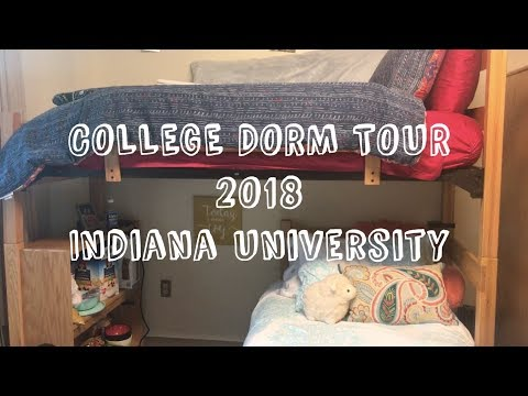 COLLEGE DORM TOUR 2018 | Indiana University