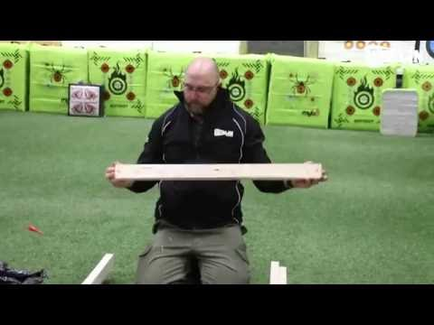 How to assemble the H frame target Stand (Merlin Archery)
