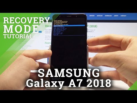 How to Boot into Recovery Mode in SAMSUNG Galaxy A7 2018 - Samsung Recovery Menu