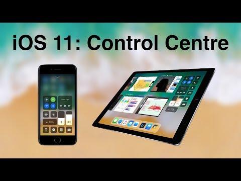 iOS 11: Control Centre