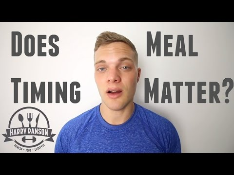 Meal Timing Still Matters.... Here's Why