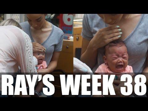 RAY'S WEEK| 38 - Ziya Gets Ears Pierced + Home Decor Haul