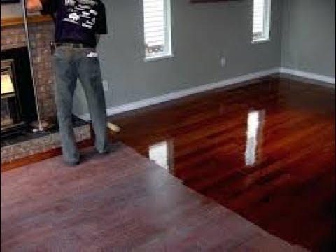 How to fill gaps and cracks in hardwood floors