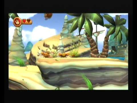 Let's Play Donkey Kong Country Returns 6 - Rocket Sea