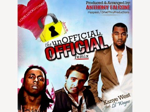 Kanye West - Love Lockdown  ReMix Feat. Lil Wayne ~Produced By~ Anthony Falcone