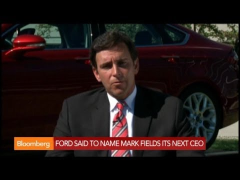 Ford Said to Name Mark Fields as Next CEO