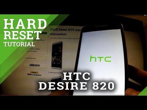 Hard Reset HTC Desire 820 - Full Reset Tutorial