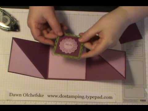 Triangle Tri-Fold Card