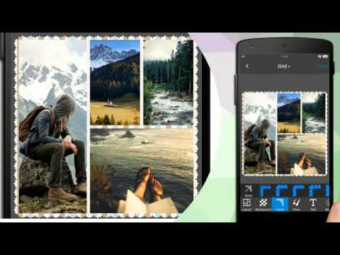 Photo Grid - Use  android device create personalized photo Collage