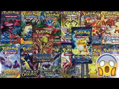 OPENING EVERY SINGLE POKEMON XY SET EVER MADE!