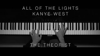 Kanye West - All of The Lights   The Theorist Piano Cover)