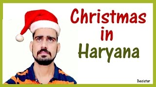 Christmas in Haryana | Santa Claus | Haryanvi Comedy | Desistar | PK
