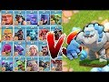 """Download ALL TROOPS vs. ICE GOLEM!! """"Clash Of Clans"""" WHO WILL WIN!!?! In Mp4 3Gp Full HD Video"""