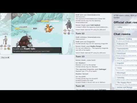 Two Mega Pokemon(Blaziken and Venusaur!)!  Pokemon X & Y Showdown Live #3