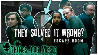 23 Things You Missed In Escape Room (2019)