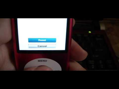 How To Reset An ipod Nano 5th Generation